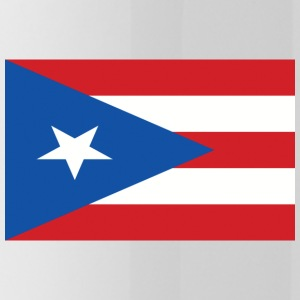 puerto rico flag 121400710 - Water Bottle