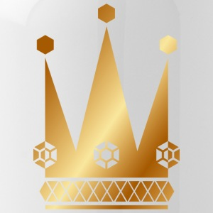 Ornate-golden-king-royal-crowns-vector - Water Bottle
