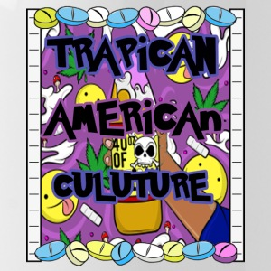 Trapican American Culture - Water Bottle