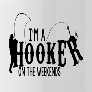 I'm A Hooker On The Weekends T Shirt - Water Bottle