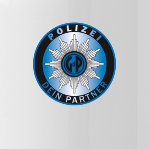 polizei symbol partner - Water Bottle