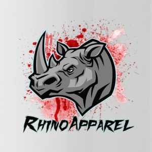 Rhino Blood Splatter - Water Bottle