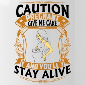 Pregnant - Give me Cake - Water Bottle