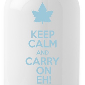 Keep Calm and Carry On Eh! - Water Bottle