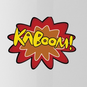 Kaboom Logo - Water Bottle