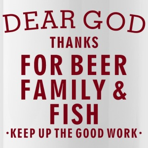 Fishing Lover - Beer Family Fish - Water Bottle