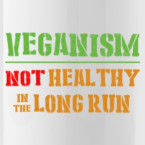 Veganism Not Healthy In The Long Run - Water Bottle