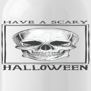 halloween skull - Water Bottle