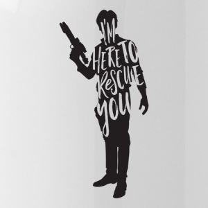 Han Solo quote t shirt design JLane Design Teepubl - Water Bottle