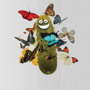 Pickle with Butterflies - Water Bottle