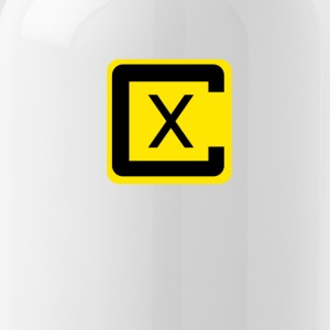 Crossover Black and Yellow - Water Bottle
