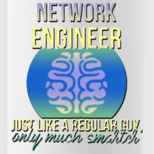 Network Engineer just Like A Re Men s - Water Bottle