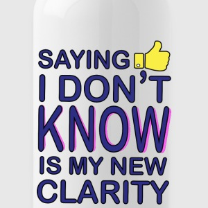 CREATIVE DESIGN || NEW CLARITY - Water Bottle