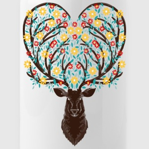 Blooming Deer - Water Bottle