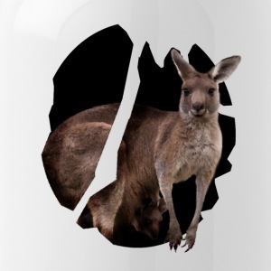 The kangaroo hops - Water Bottle