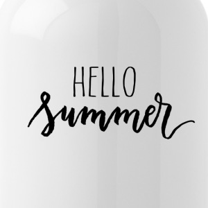 hello summer - Water Bottle