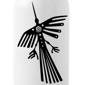 Nazca lines, condor - Water Bottle