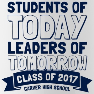 Class of 2017 Carver High School - Water Bottle
