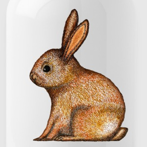 Easter Easterbunny rabbit Happy Easter Animal - Water Bottle
