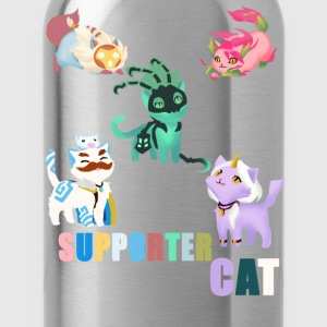 Supporter Cat - Water Bottle