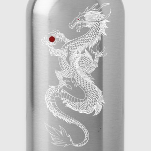Long Dragon (white) - Water Bottle