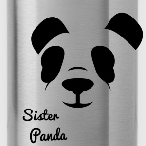 Sister Panda - Water Bottle
