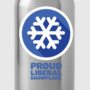 proud snowflake - Water Bottle
