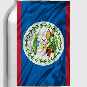 BELIZE FLAG... - Water Bottle