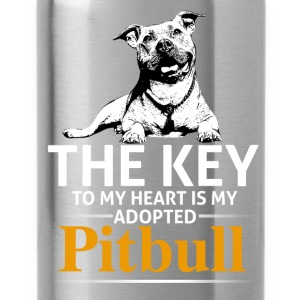 This Girl Loves Her Pit Bull - Water Bottle