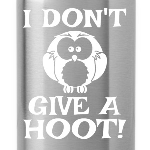 I Don't Give A Hoot - Water Bottle
