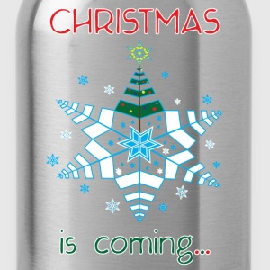 Christmas is Coming... - Water Bottle