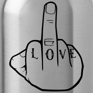 Fuck Love - Stick Up - Water Bottle