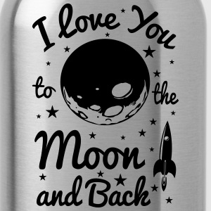 I Love You To The Moon - Water Bottle