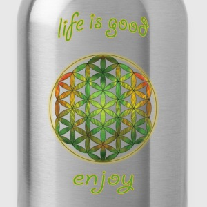 flower-of-life22 - Water Bottle