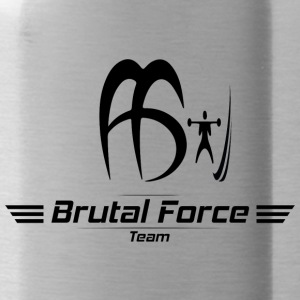 black_and_white_BF_logo - Water Bottle