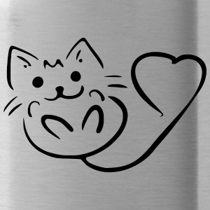 lovecat - Water Bottle