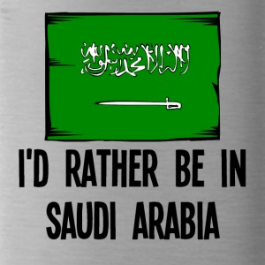 I'd Rather Be In Saudi Arabia - Water Bottle