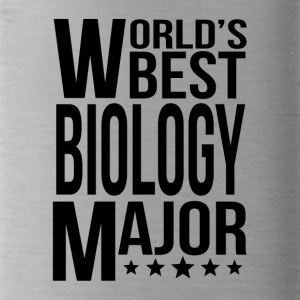 World's Best Biology Major - Water Bottle