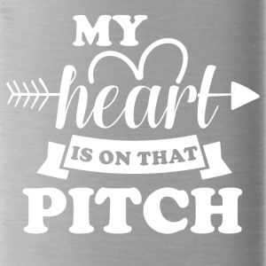 My heart is on that pitch - Water Bottle