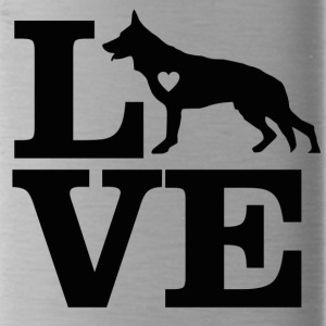 german shepherd design - Water Bottle