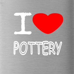 I LOVE POTTERY - Water Bottle