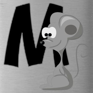 M Is For Mouse - Water Bottle