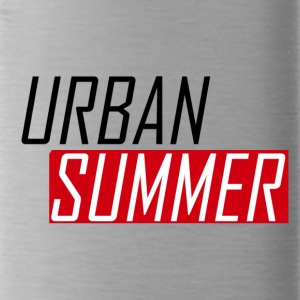 Urban Summer Logo - Water Bottle