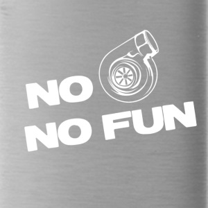 No turbo no fun - Water Bottle