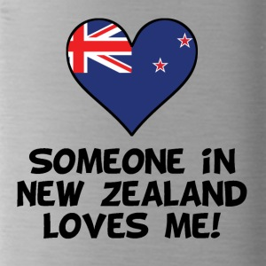 Someone In New Zealand Loves Me - Water Bottle