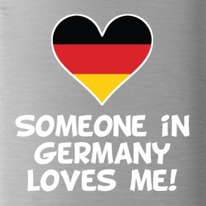 Someone In Germany Loves Me - Water Bottle
