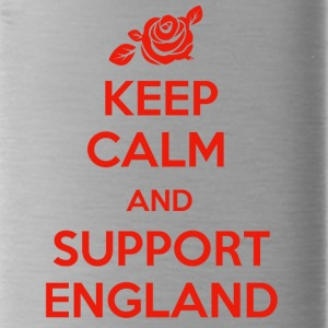 Keep Calm and support England - Water Bottle