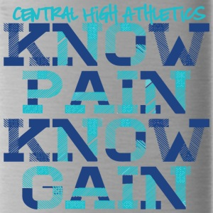 Central High Athletics Know Pain Know Gain - Water Bottle