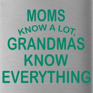 grandmas know everything - Water Bottle
