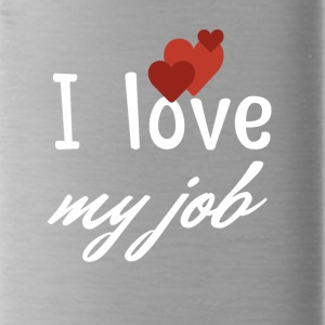 I love my job - Water Bottle